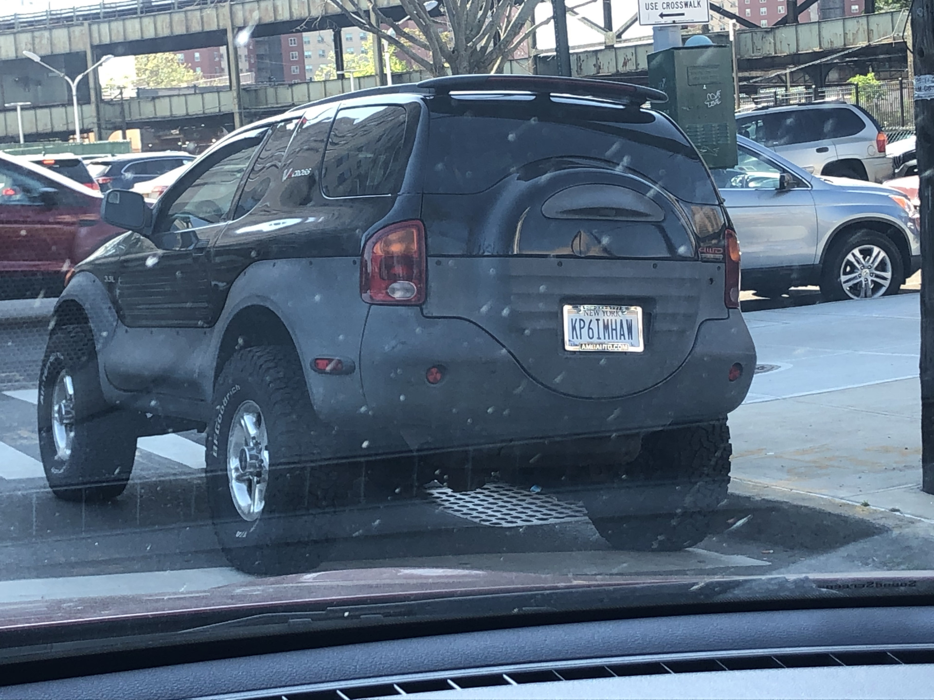 kp6imhaw - funny license plate of America